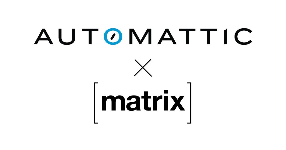 Automattic ♥️ Matrix