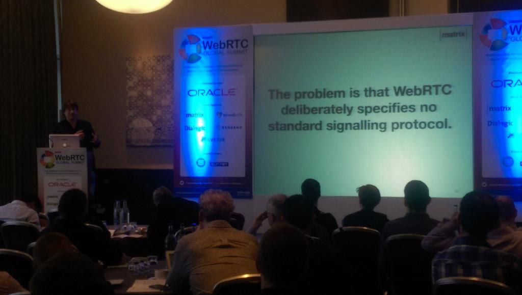 Matrix at WebRTC conference London 2015