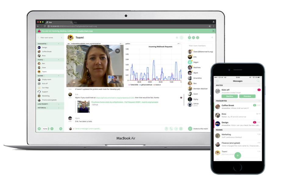 Introducing Matrix Widgets - including Jitsi video conferencing